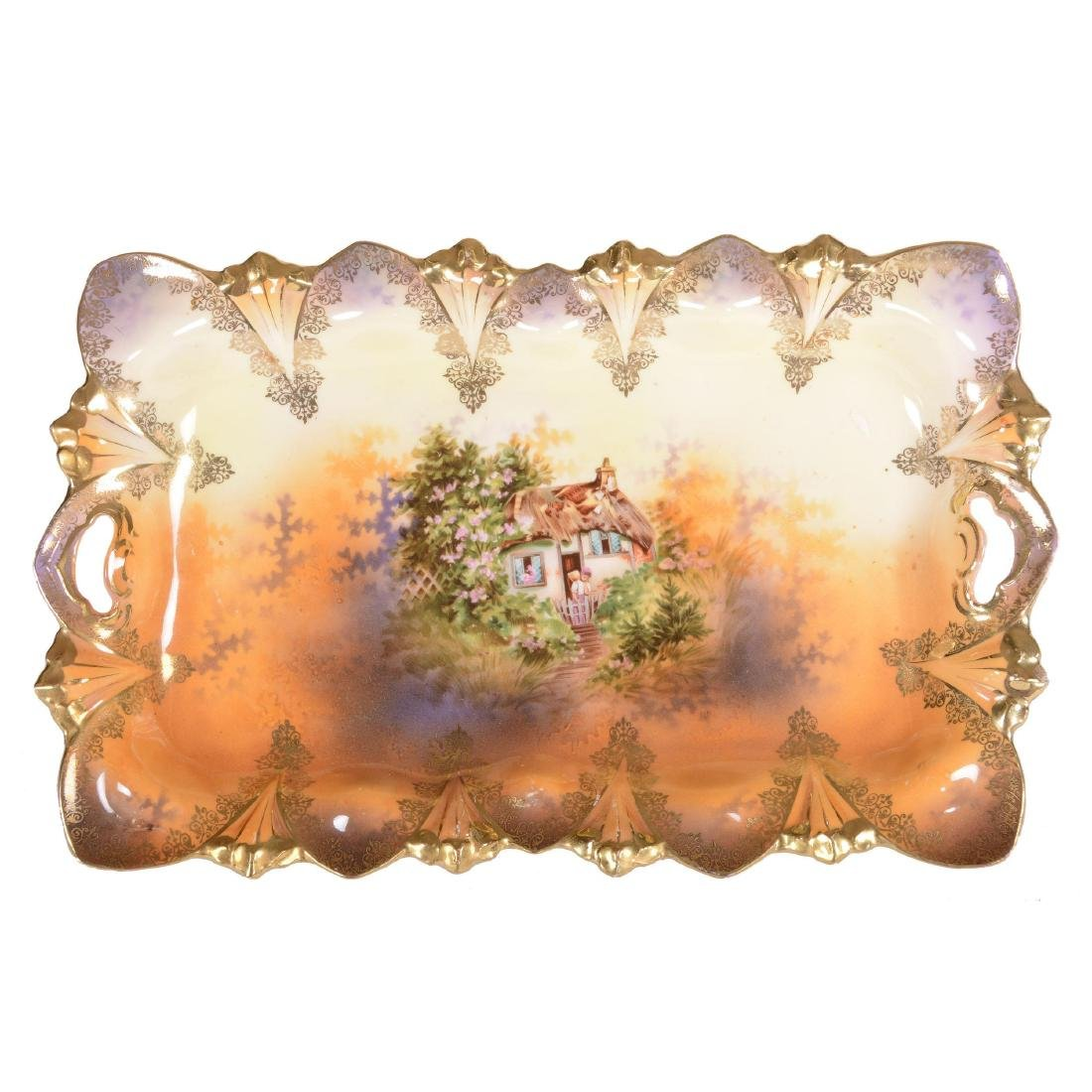 Dresser Tray - Marked R.S. Prussia - 11.5""