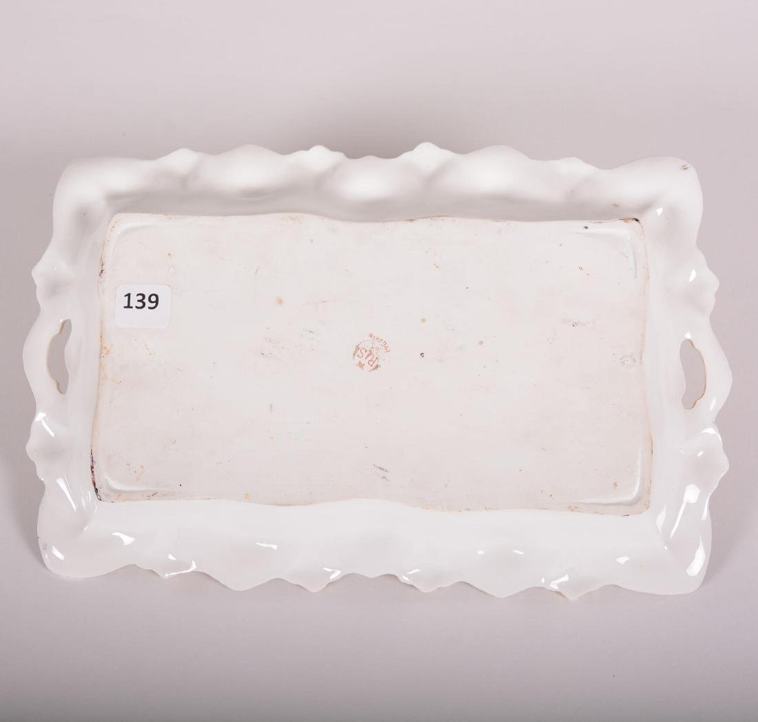 "Dresser Tray - Marked R.S. Prussia - 11.5"" - 2"