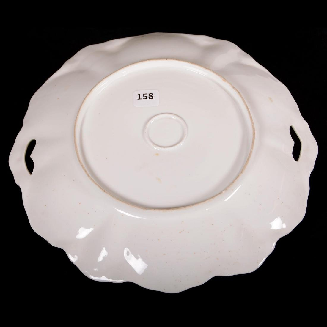 """Cake Plate - Unmarked Prussia - 10.5"""" - 2"""