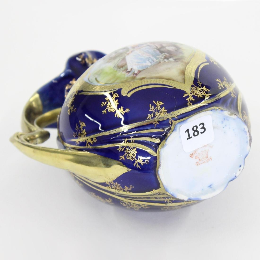 "Vase - Royal Vienna Mark - 6.25"" X 6"" - 3"