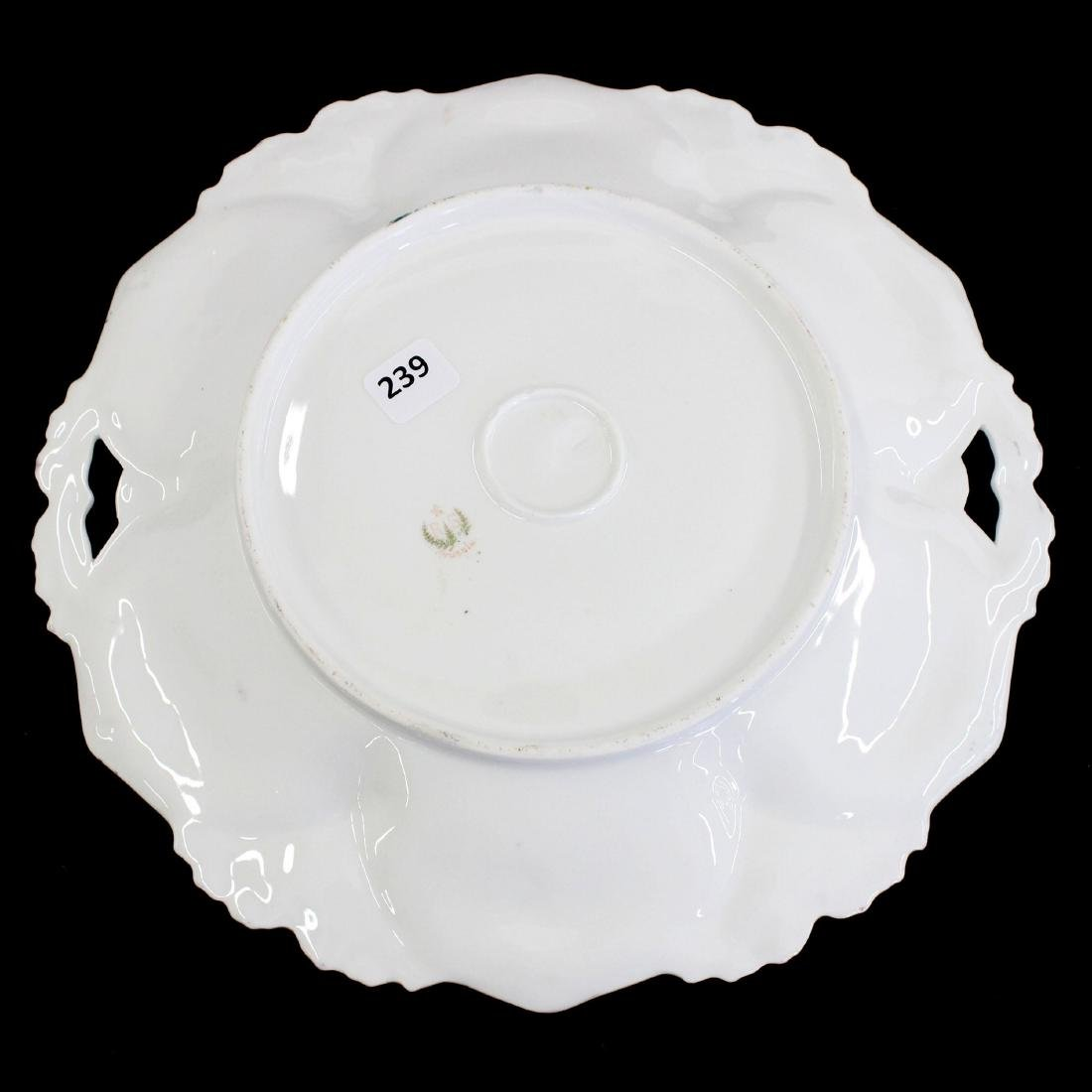 "Cake Plate - Marked R.S. Prussia - 11"" - 2"