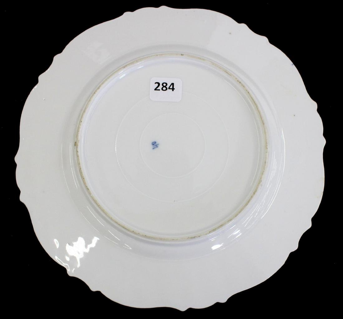 """Plate - Unmarked Prussia - 9"""" - 2"""