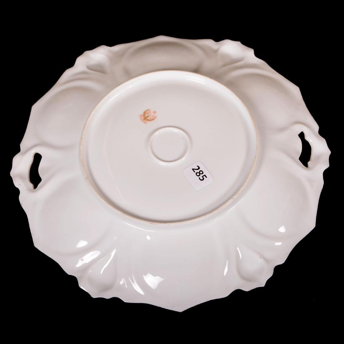 """Cake Plate - Marked R.S. Prussia - 10.75"""" - 2"""