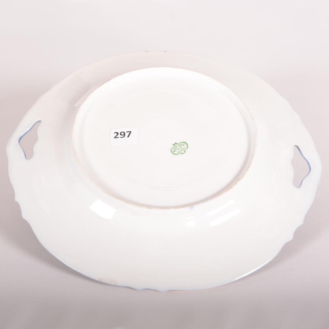 """Cake Plate - Prov Saxe Mark - 10.25"""" - 2"""