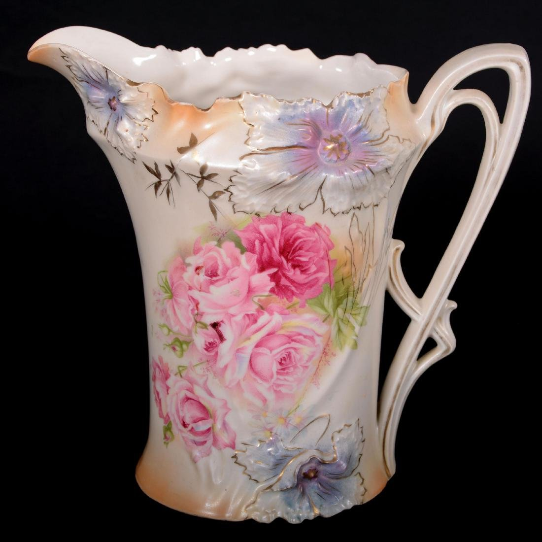 """Lemonade Pitcher - Marked R.S. Prussia - 8.75"""""""