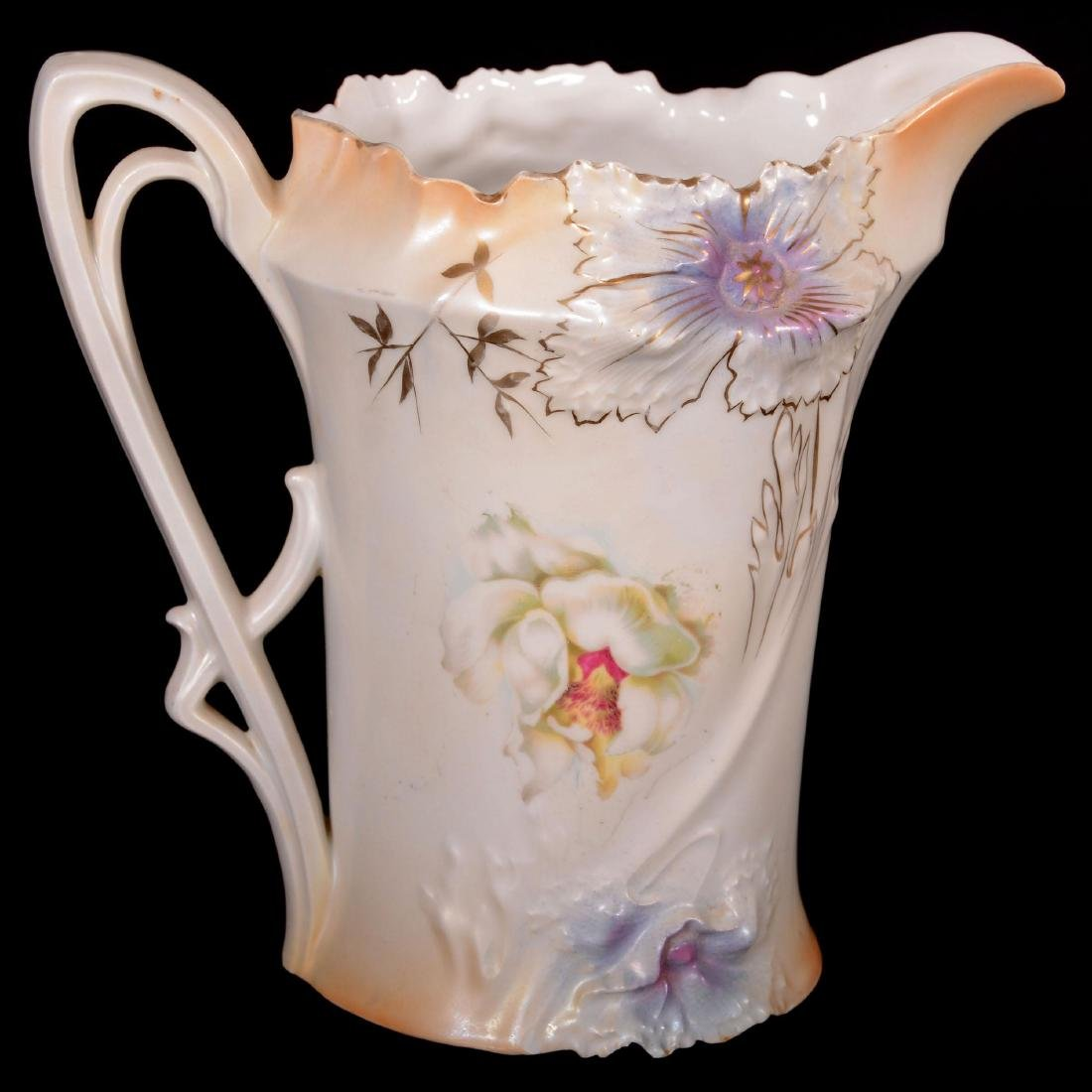 """Lemonade Pitcher - Marked R.S. Prussia - 8.75"""" - 2"""