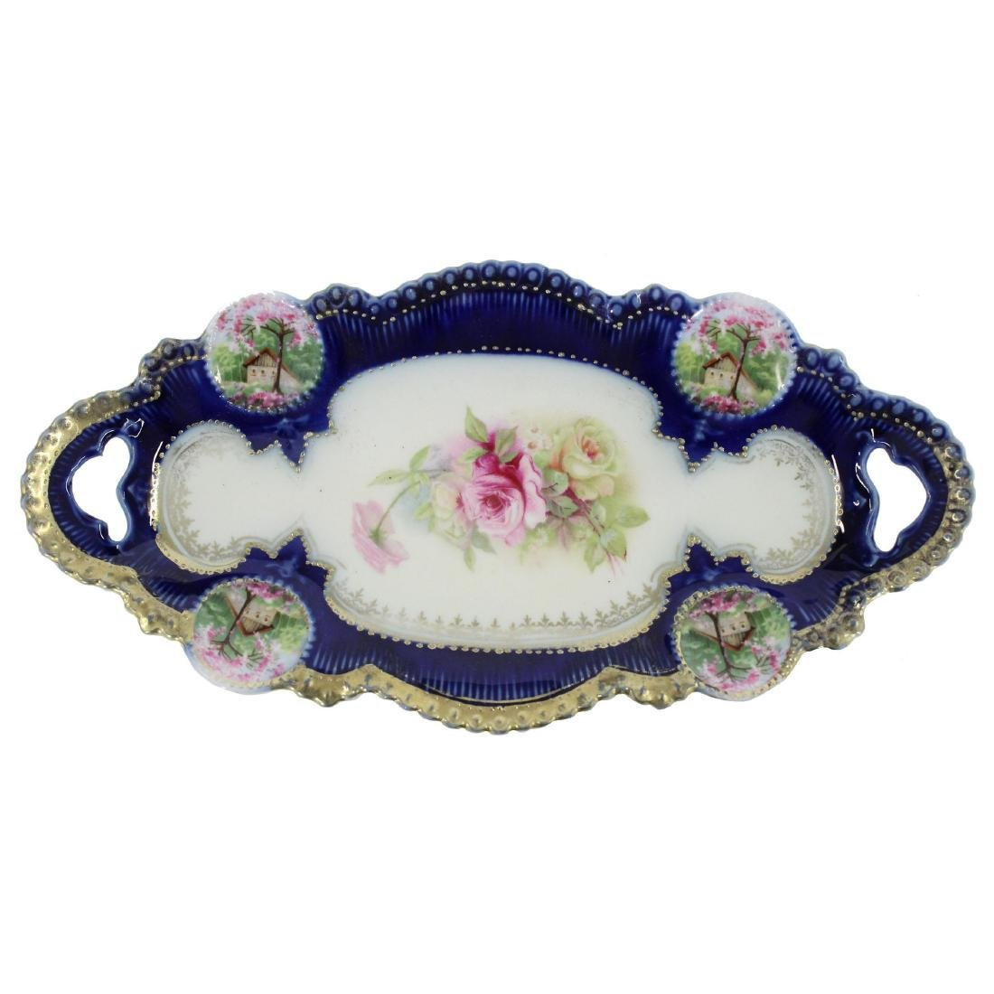 Relish Tray - Marked R.S. Prussia - 9.75""