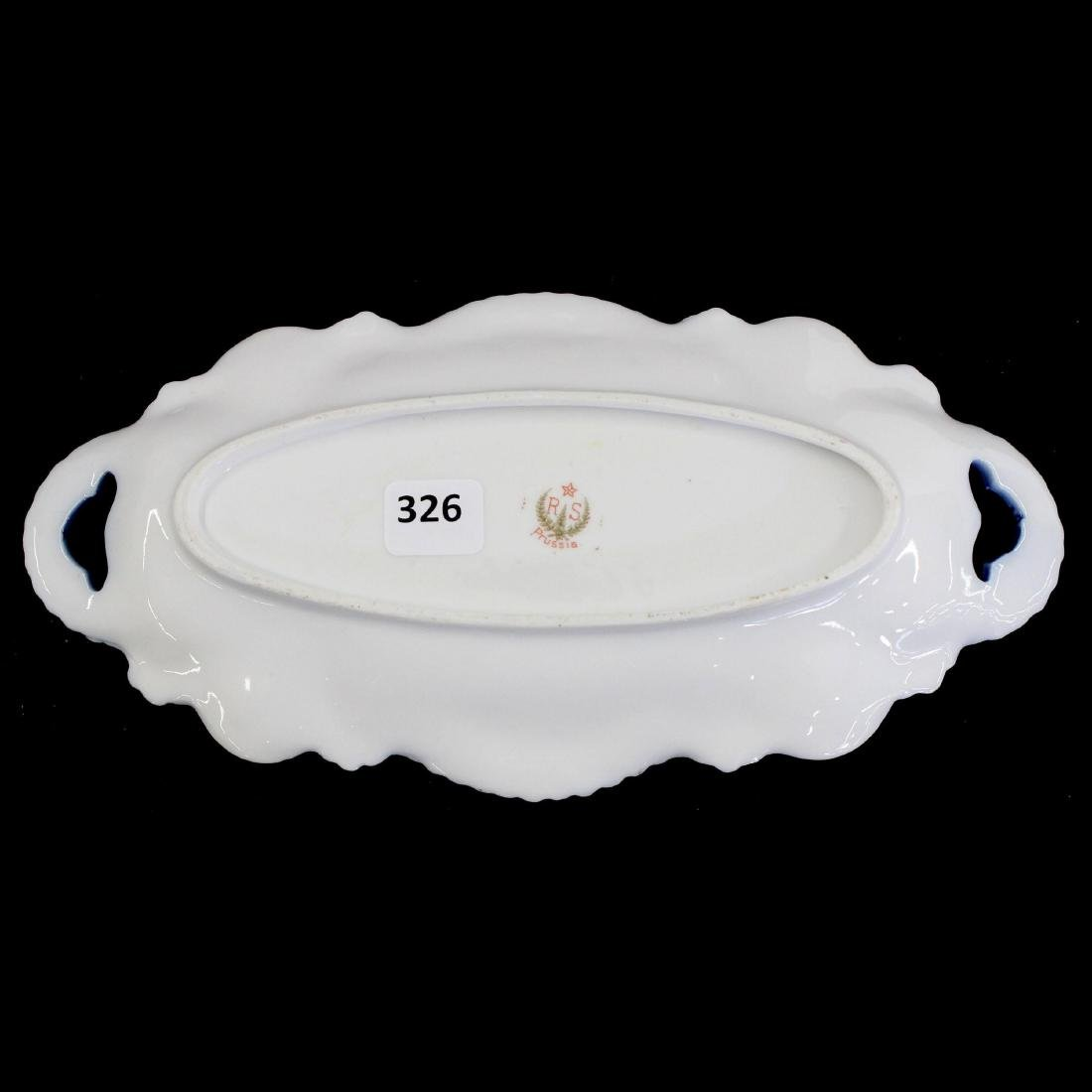 "Relish Tray - Marked R.S. Prussia - 9.75"" - 2"