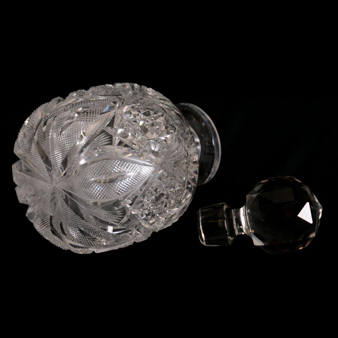 """Cologne Bottle - 7.25"""" - Venetian Pattern by Hawkes - 2"""