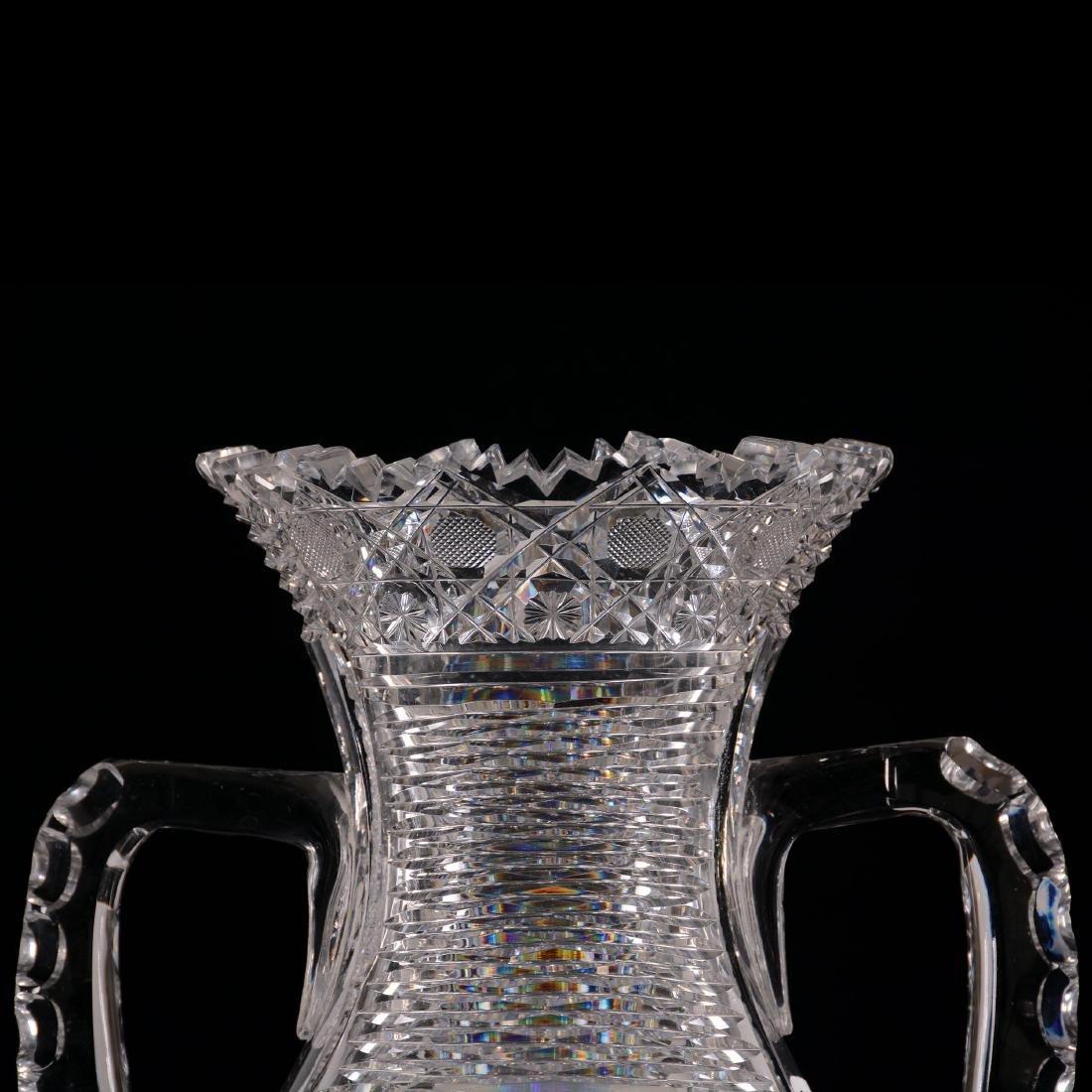 """Two-Handled Vase - 14"""" X 9.5"""" Across Handles - 3"""