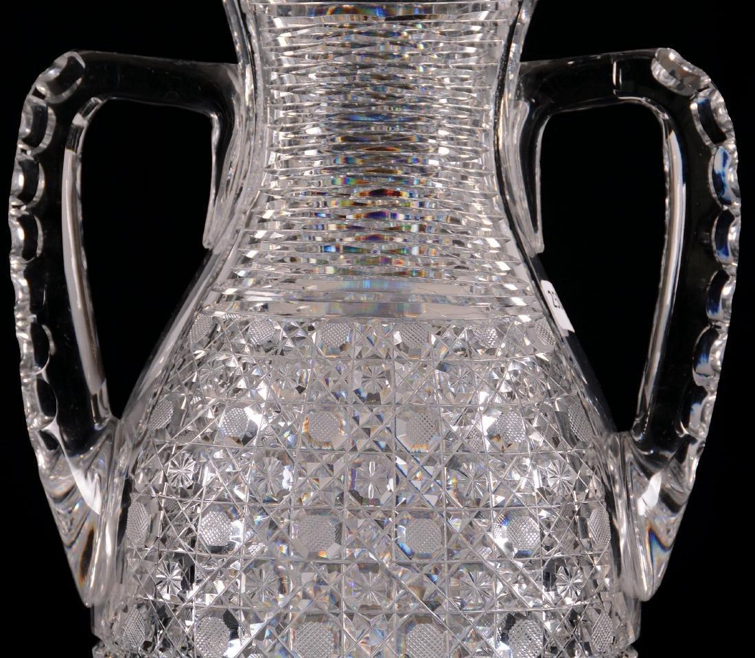 """Two-Handled Vase - 14"""" X 9.5"""" Across Handles - 5"""