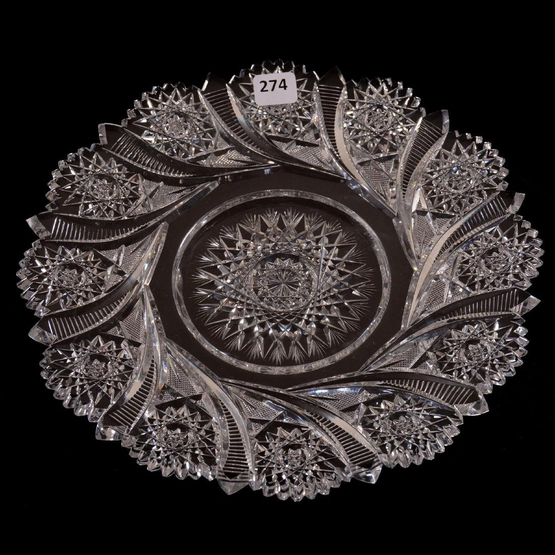 """Round Tray - 10"""" - Signed Tuthill"""