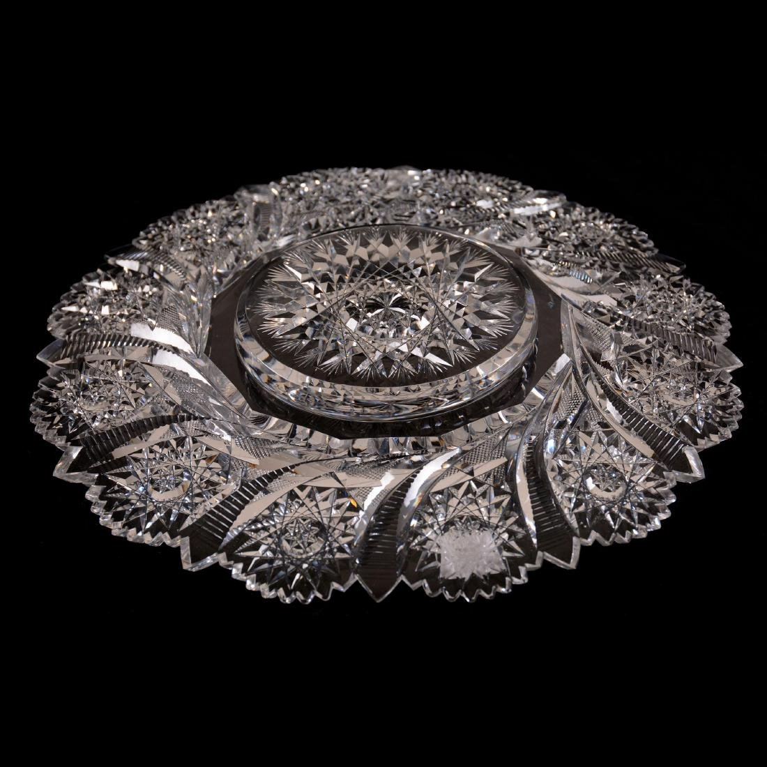 """Round Tray - 10"""" - Signed Tuthill - 2"""