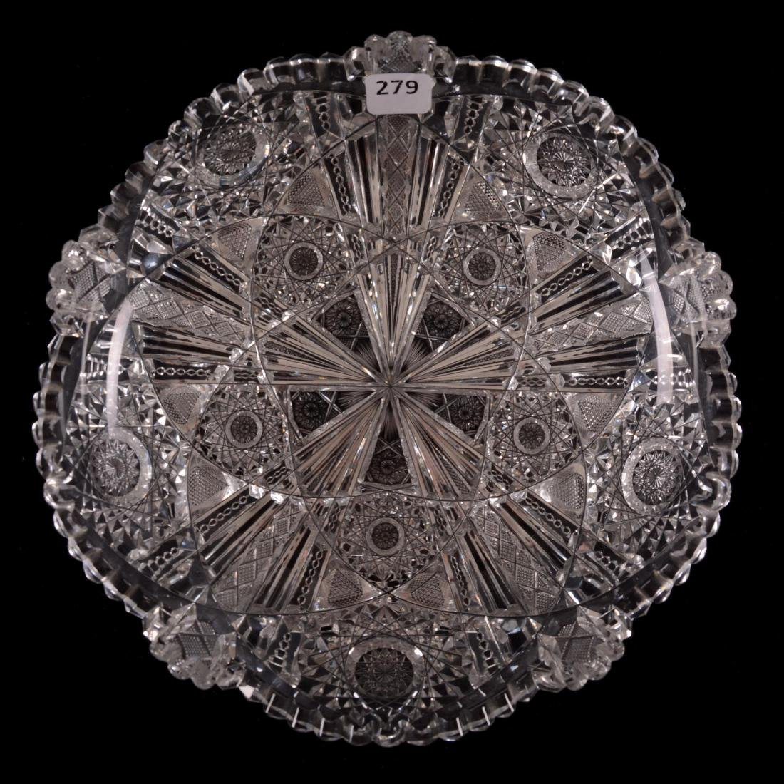 """Low Bowl - 2"""" X 9"""" - Wedgemere Pattern by Libbey"""