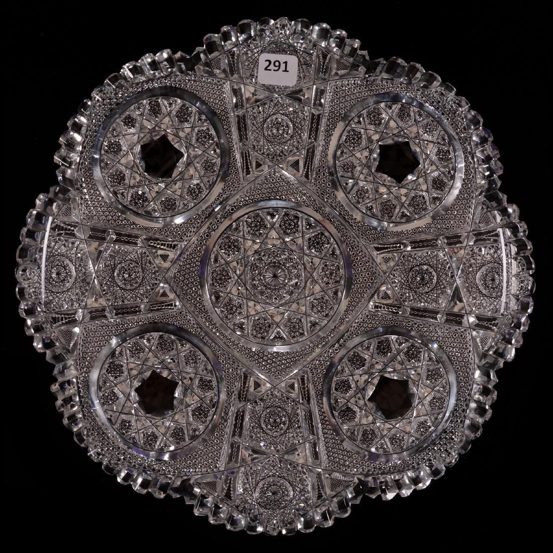 "Round Tray - 11.5"" - Waldorf Pattern by Clark"