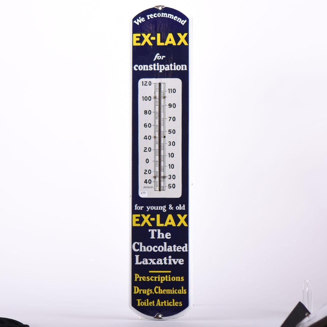 Vintage Advertising Thermometer - 38 5\