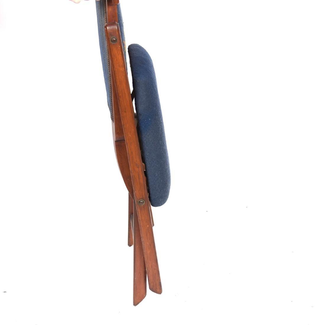 "Walnut Folding Chair 32"" - 2"