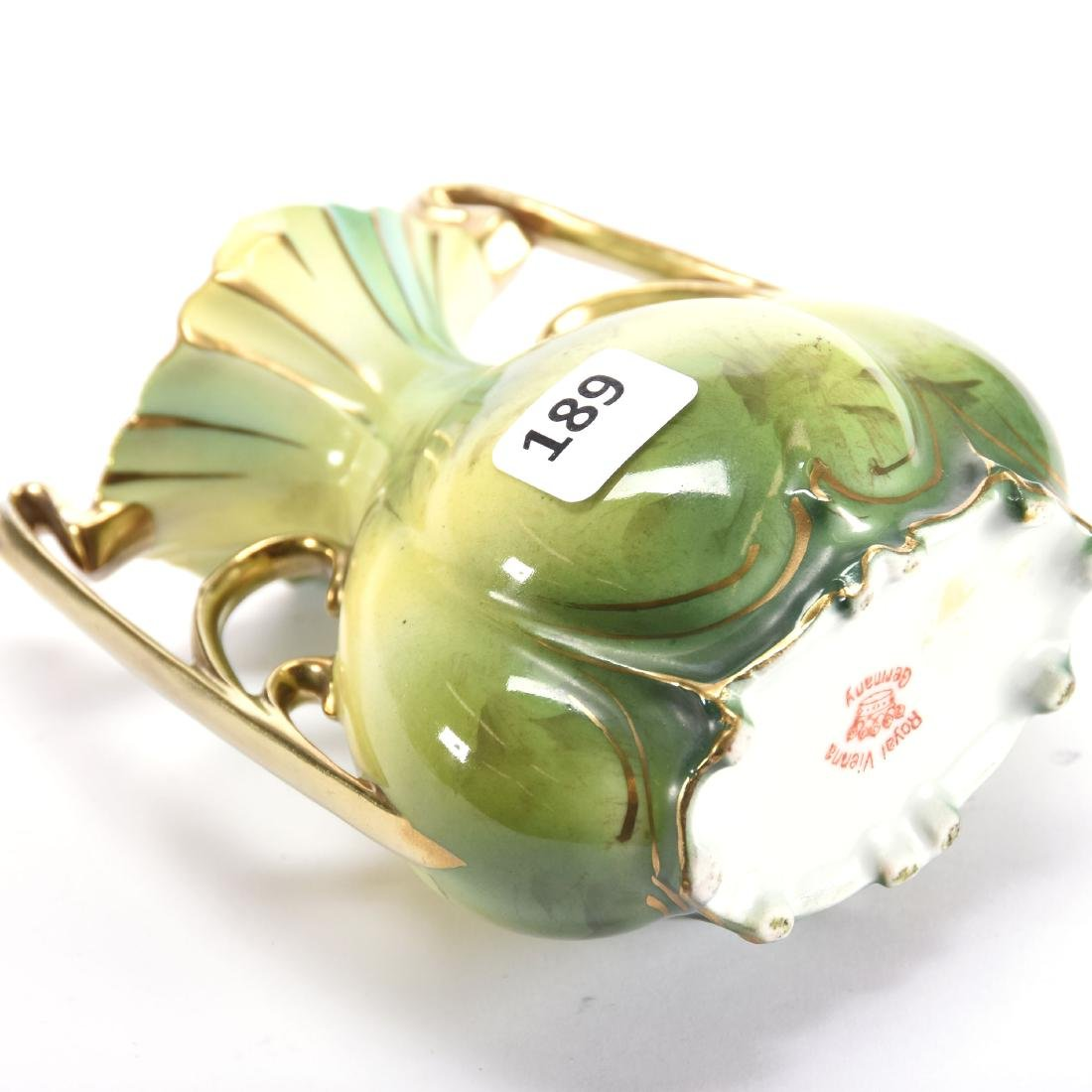 "Vase Marked Royal Vienna 5"" - 2"