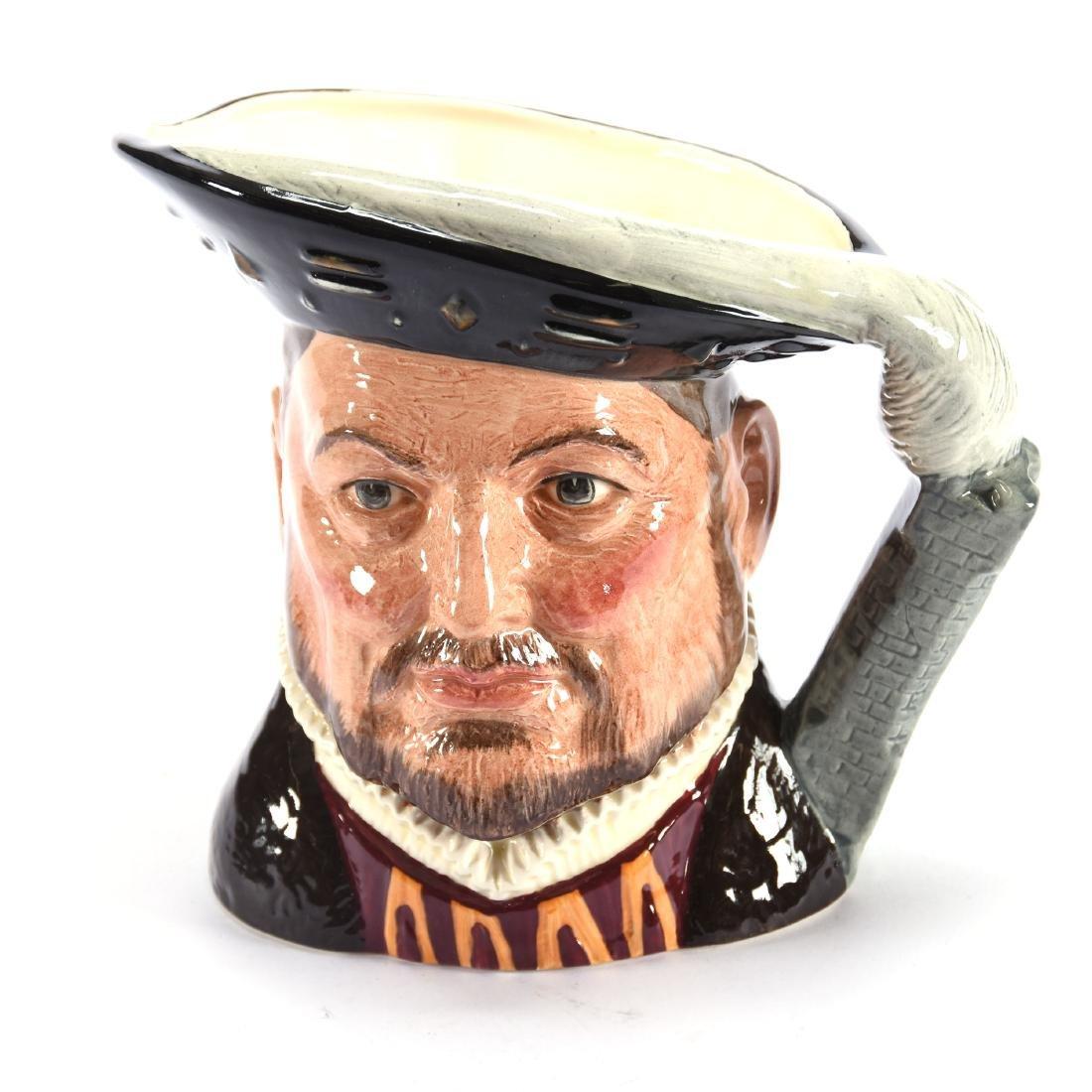 """Royal Doulton Figural Toby Mug 6.75"""""""