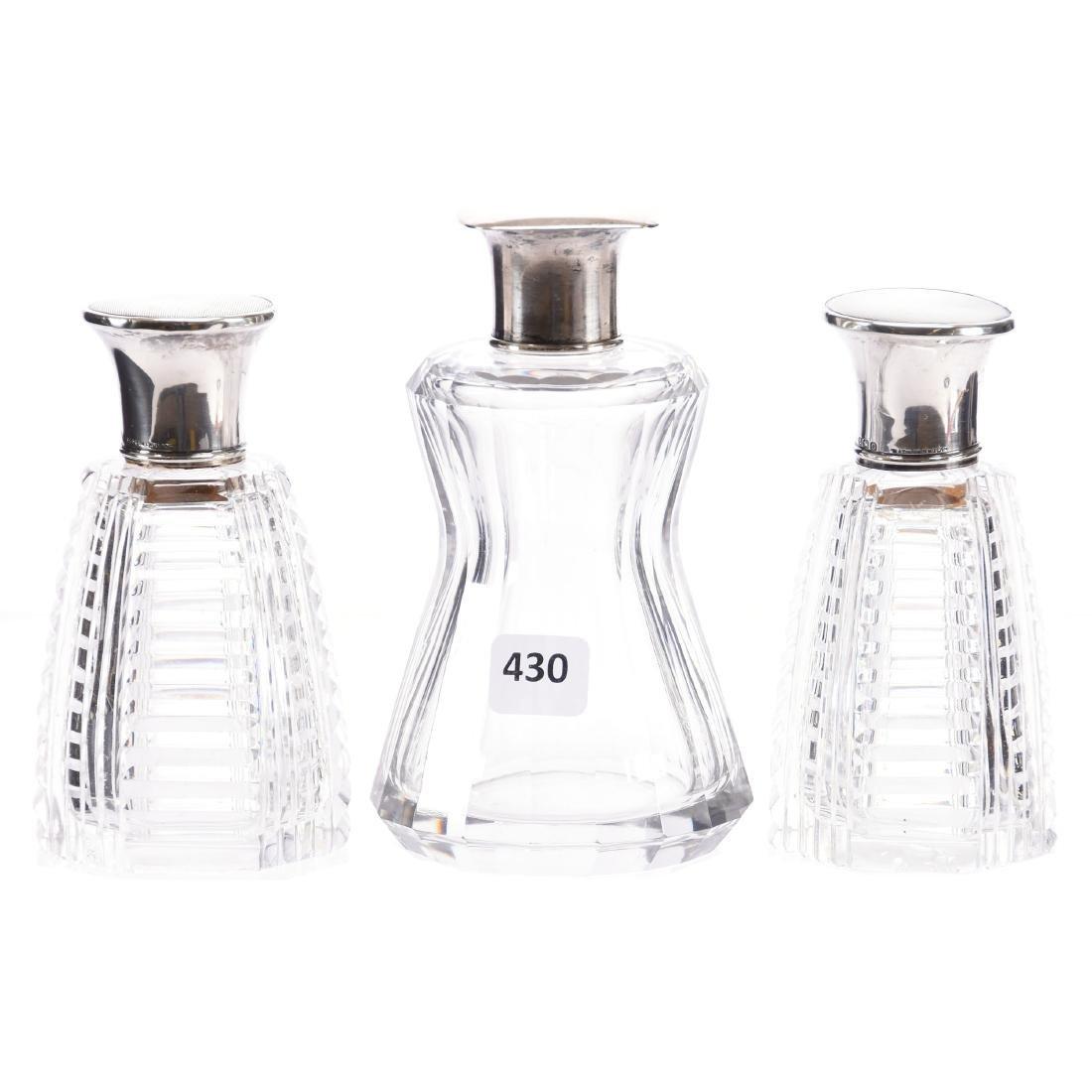(3) Perfume Bottles