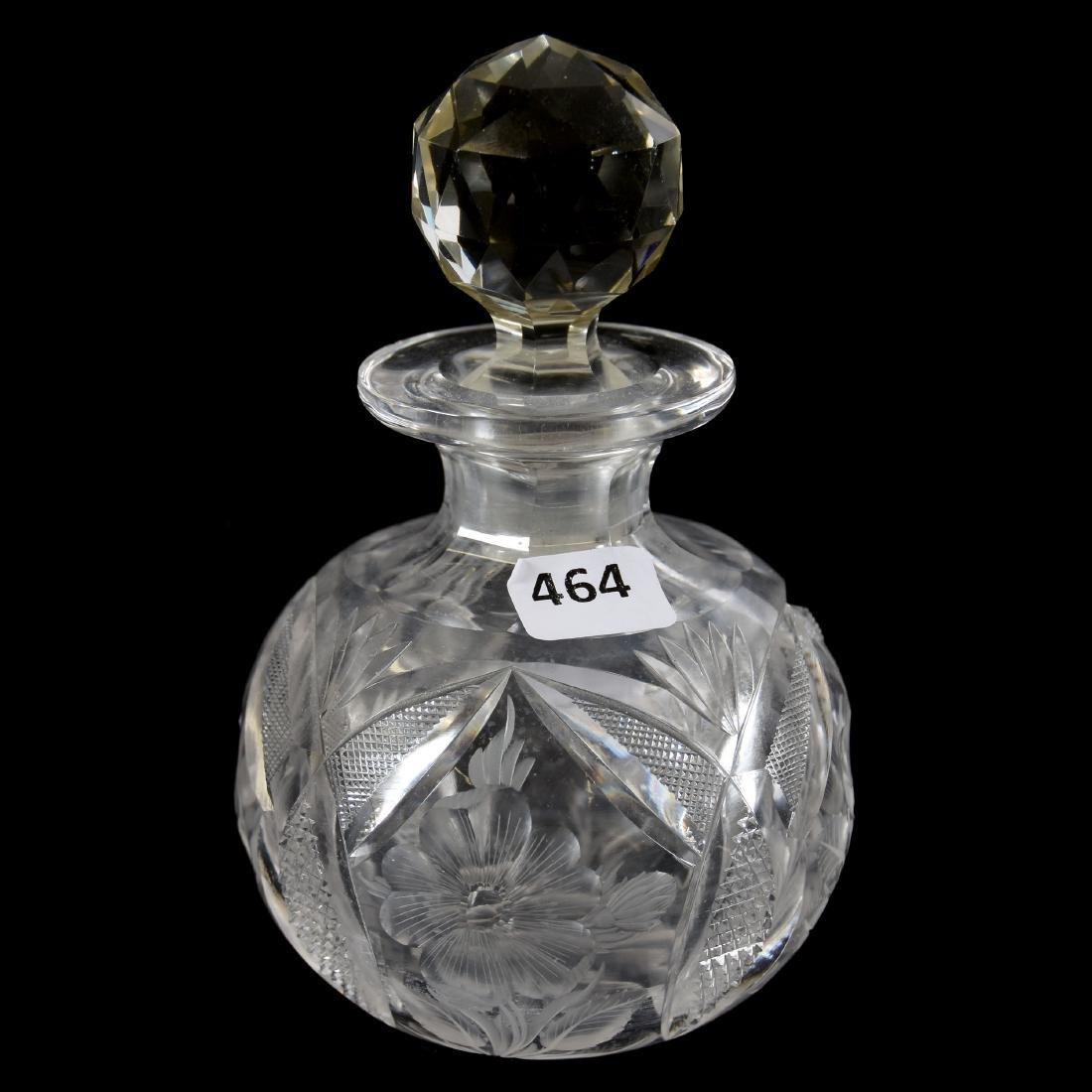 """Cologne American Brilliant Cut Glass 5.75"""""""