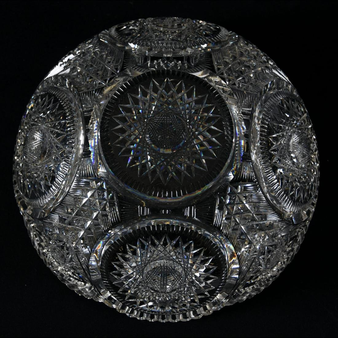 Bowl, Pairpoint, Sparkle Pattern - 2