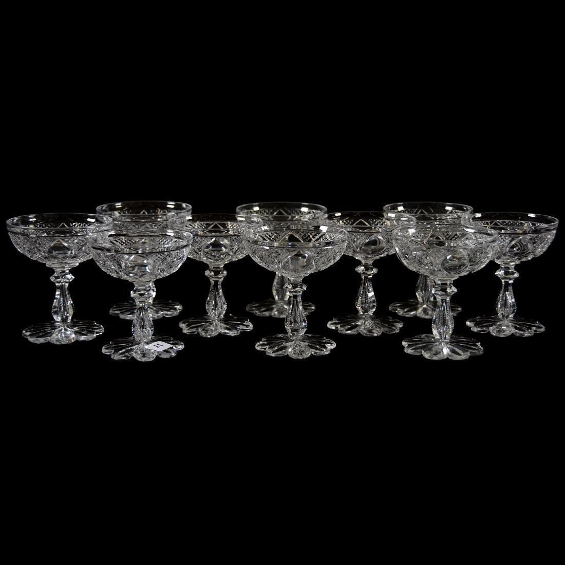 (10) Champagnes Cesica, Diamond & Star Diamond Motif