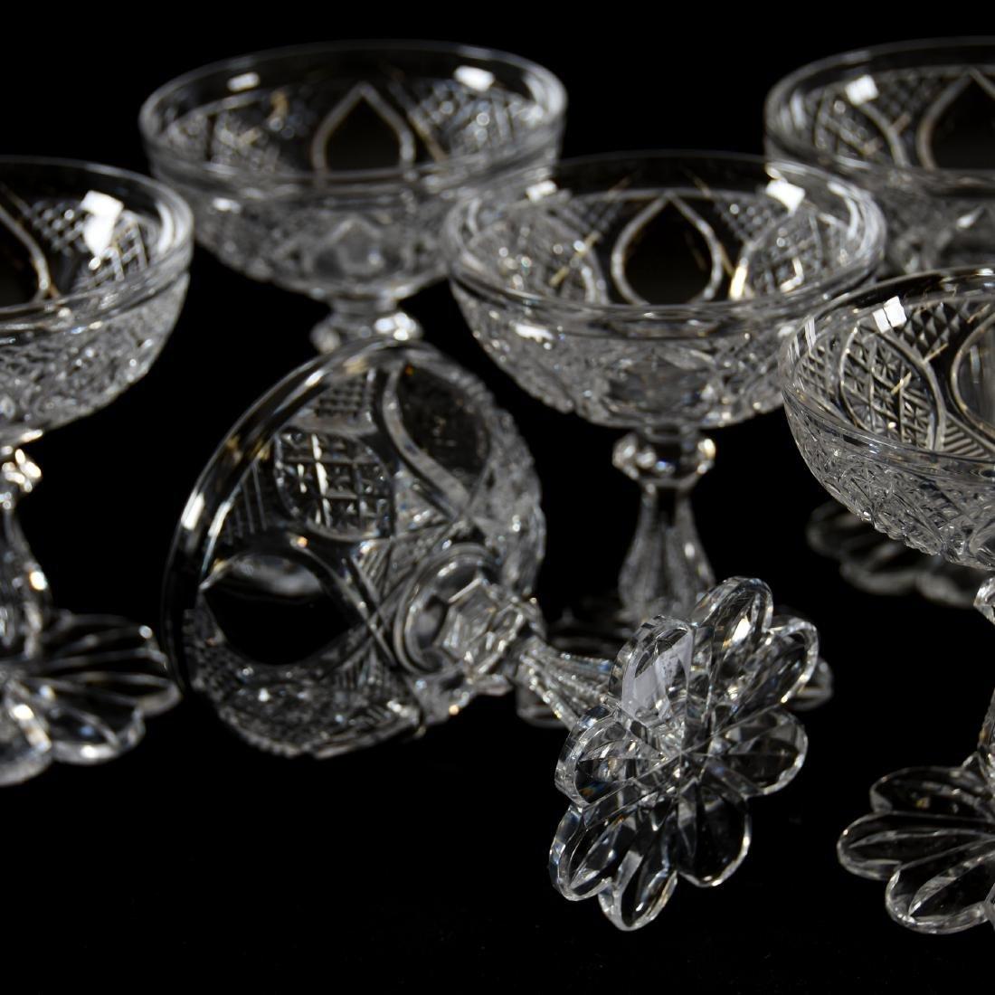 (10) Champagnes Cesica, Diamond & Star Diamond Motif - 3