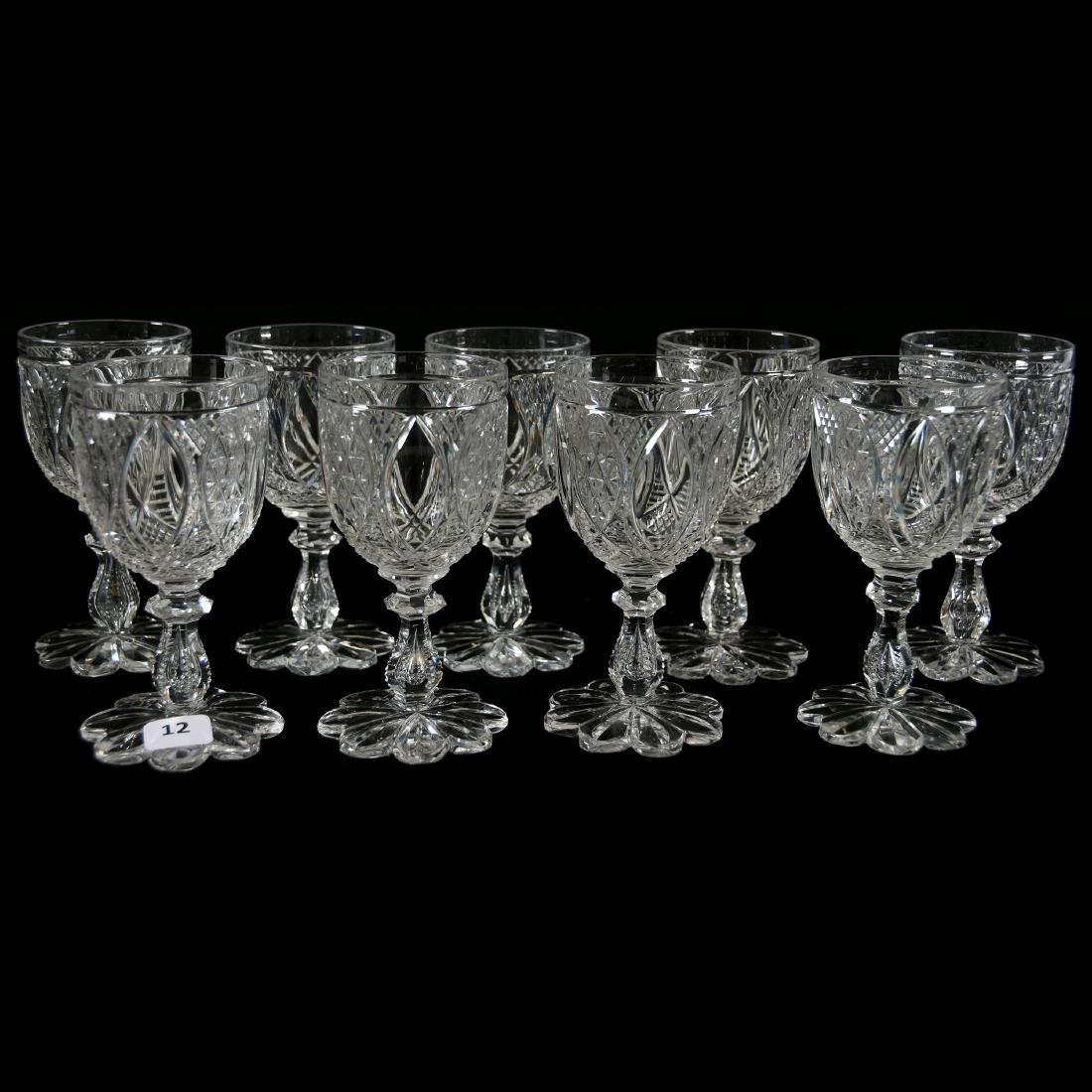 (9) Wines, Cesica, Diamond & Star Diamond Motif