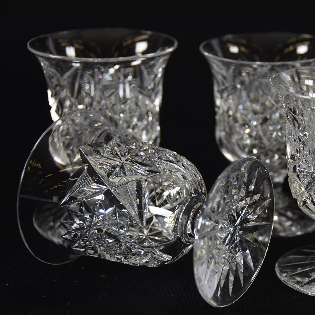 (6) Punch Cups, Hobstar & Star Motif - 3
