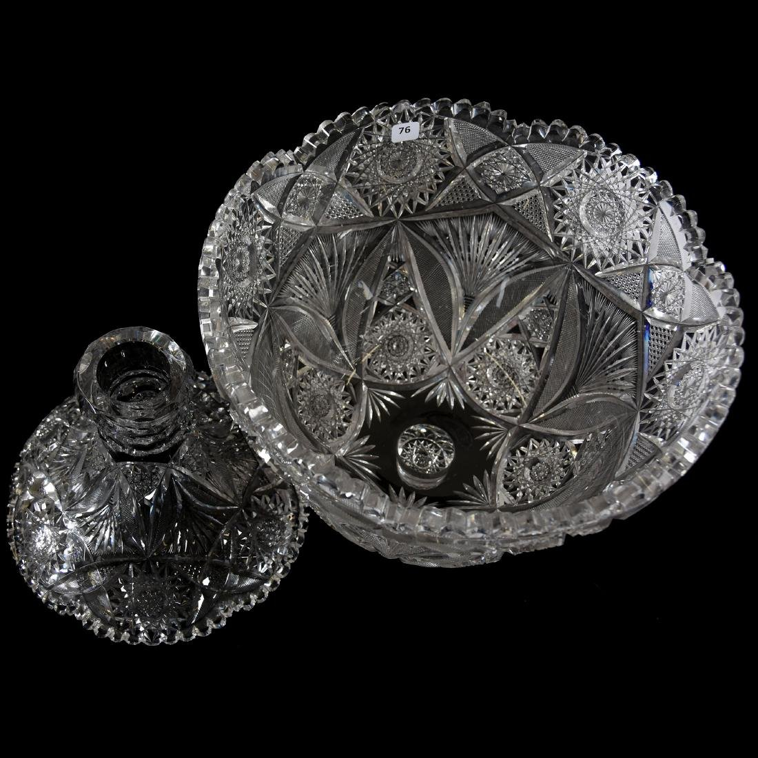 Punch Bowl, Hobstar Vesica, Strawberry Diamond - 2