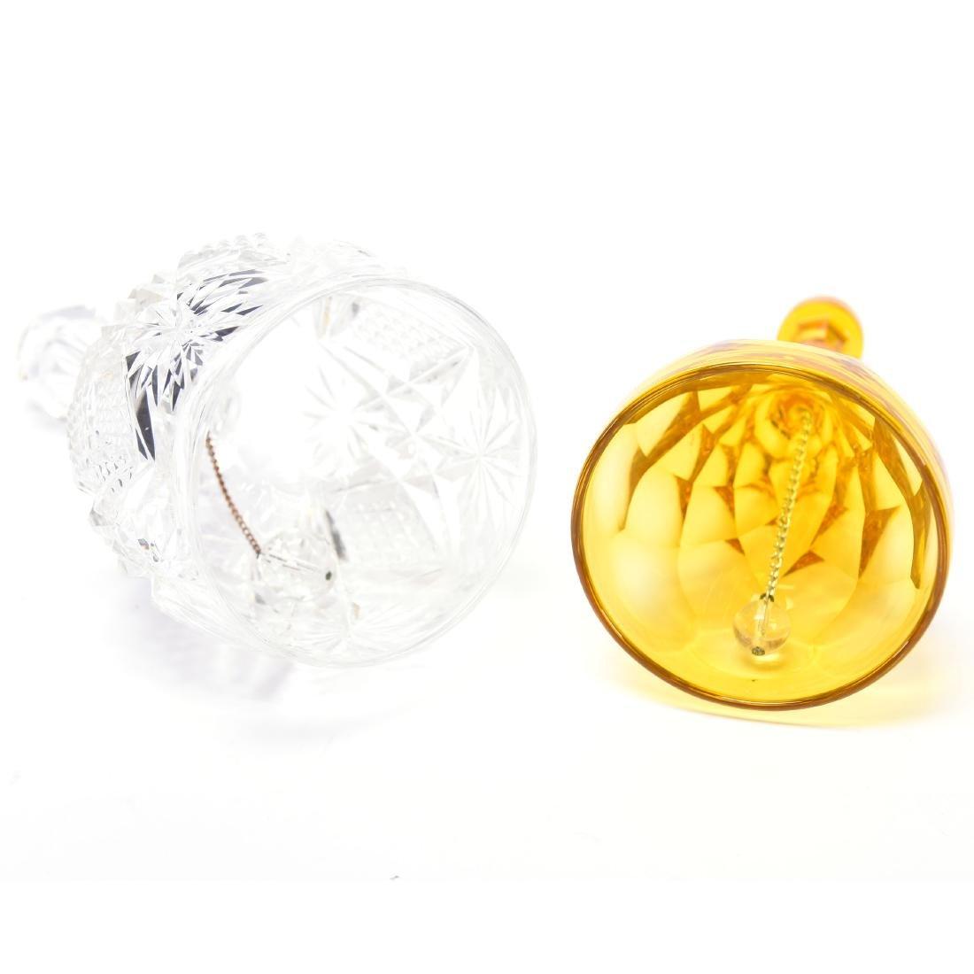 (2) Bells, (1) Diamond & Fan, (1) St. Louis Diamond - 3