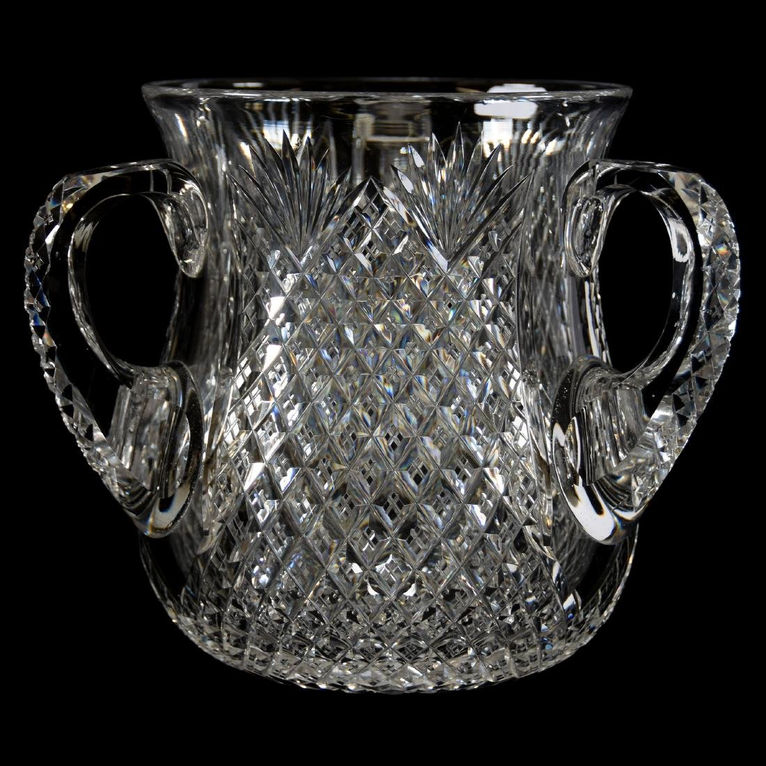 Loving Cup, Crosscut Diamond & Fan Motif