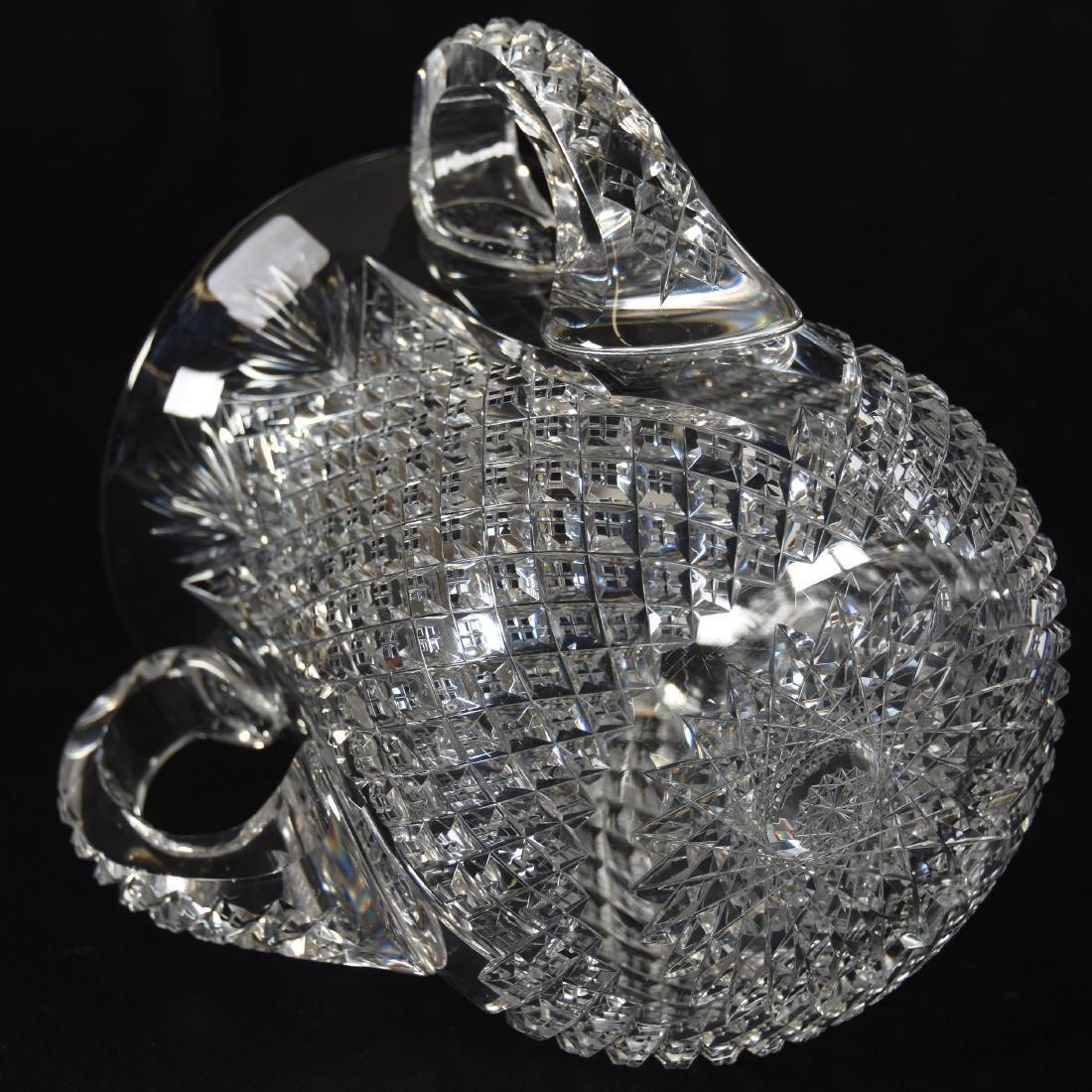Loving Cup, Crosscut Diamond & Fan Motif - 3