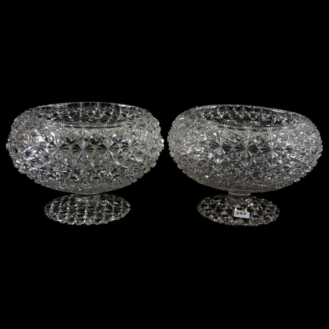 Pair Bowls, Russian Pattern