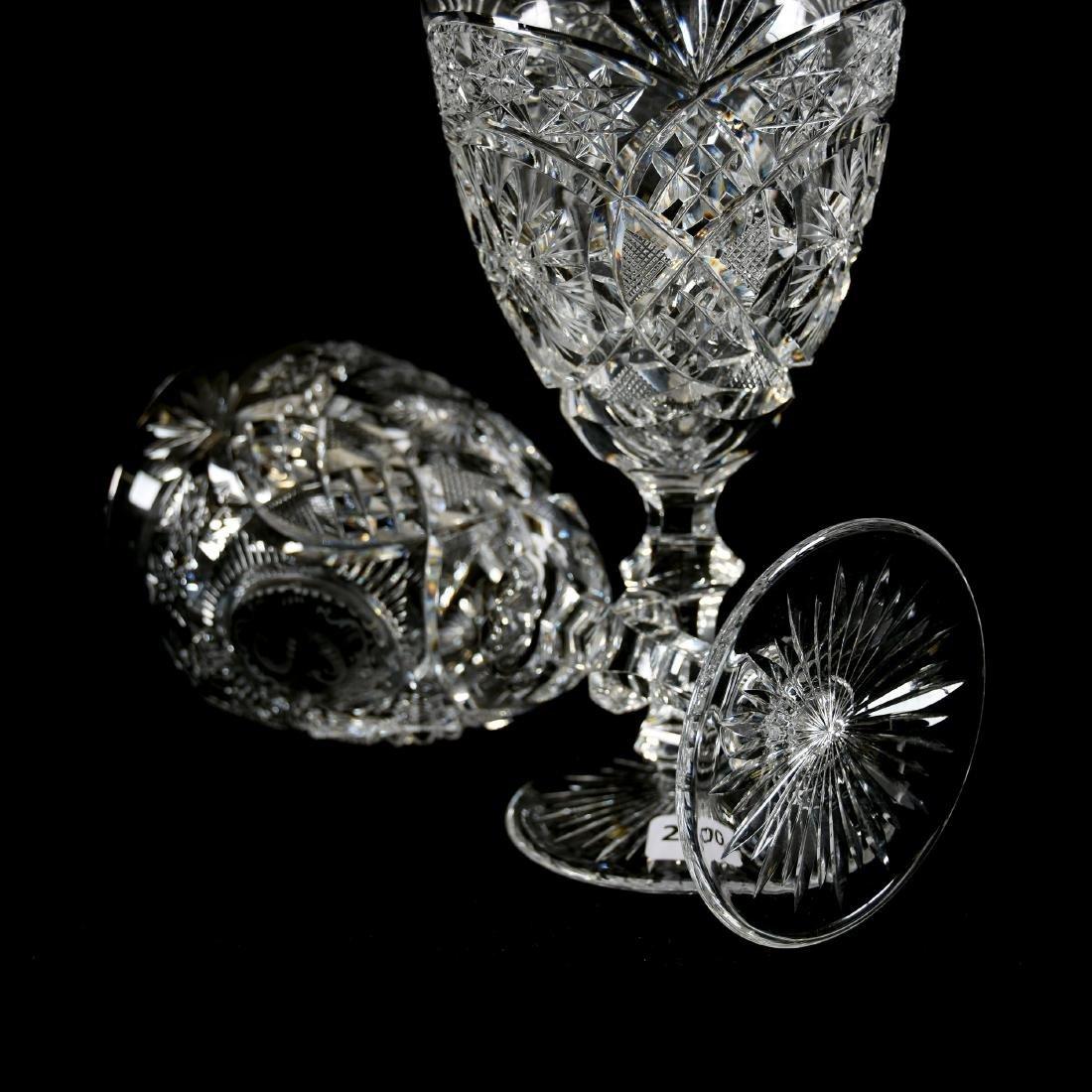 Goblets, Hobstar, Star, Strawberry Diamond, Diamond - 3