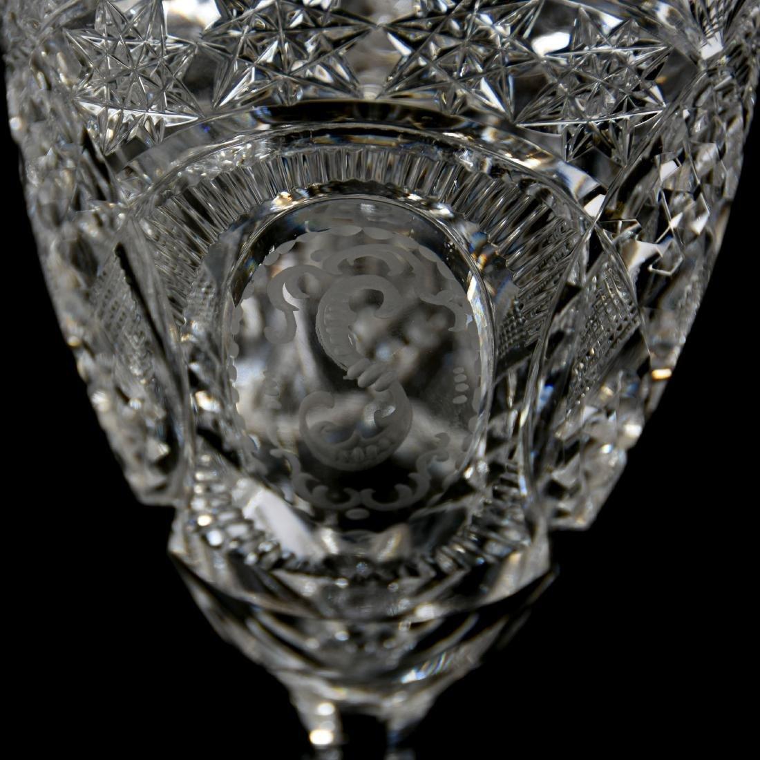 Goblets, Hobstar, Star, Strawberry Diamond, Diamond - 4