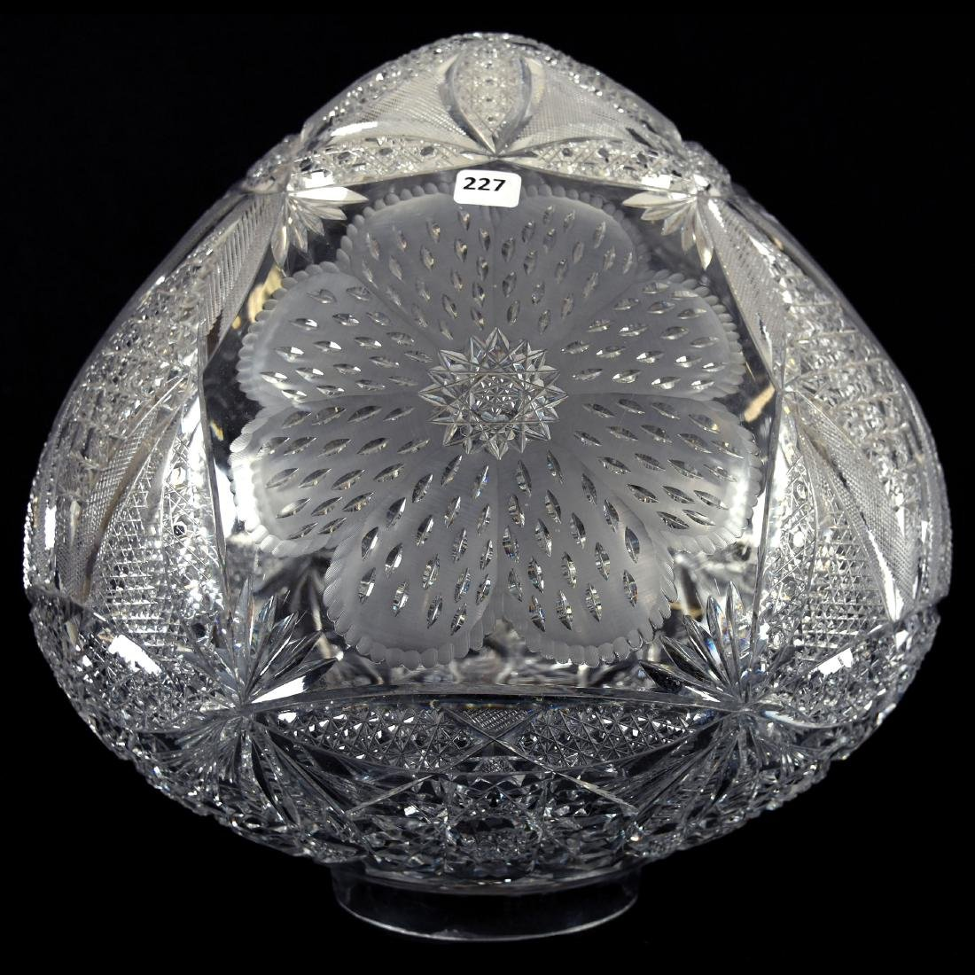 Lamp Globe, Flower Blossom, Hobstar Flower Blossom