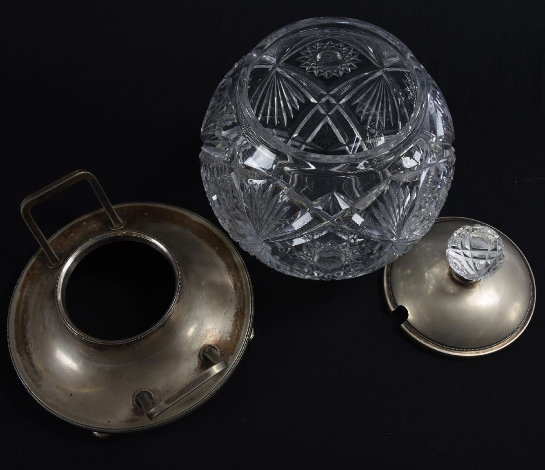 Wassail Bowl, Hobstar, Zipper, & Fan Motif - 2