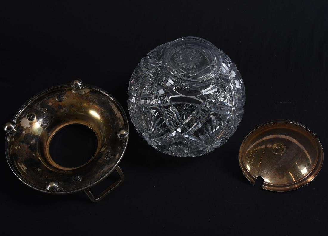 Wassail Bowl, Hobstar, Zipper, & Fan Motif - 3