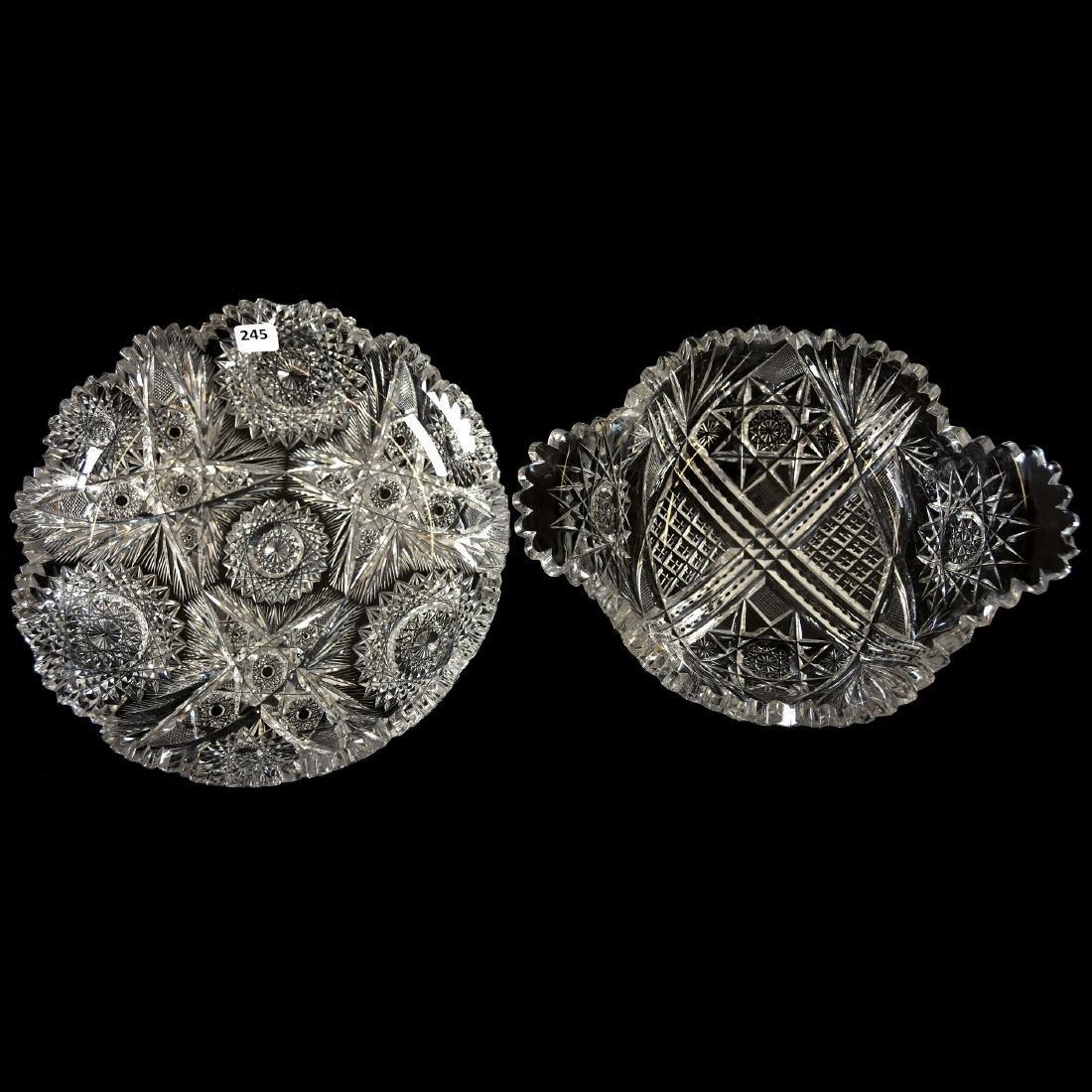 (2) Bowls, Various Patterns