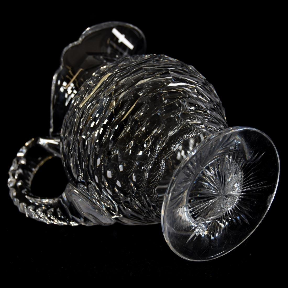 Water Pitcher, Honeycomb Pattern - 3