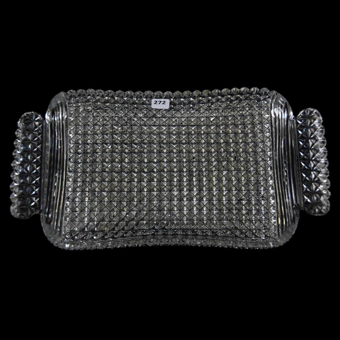 Serving Tray, Diamond Block Design