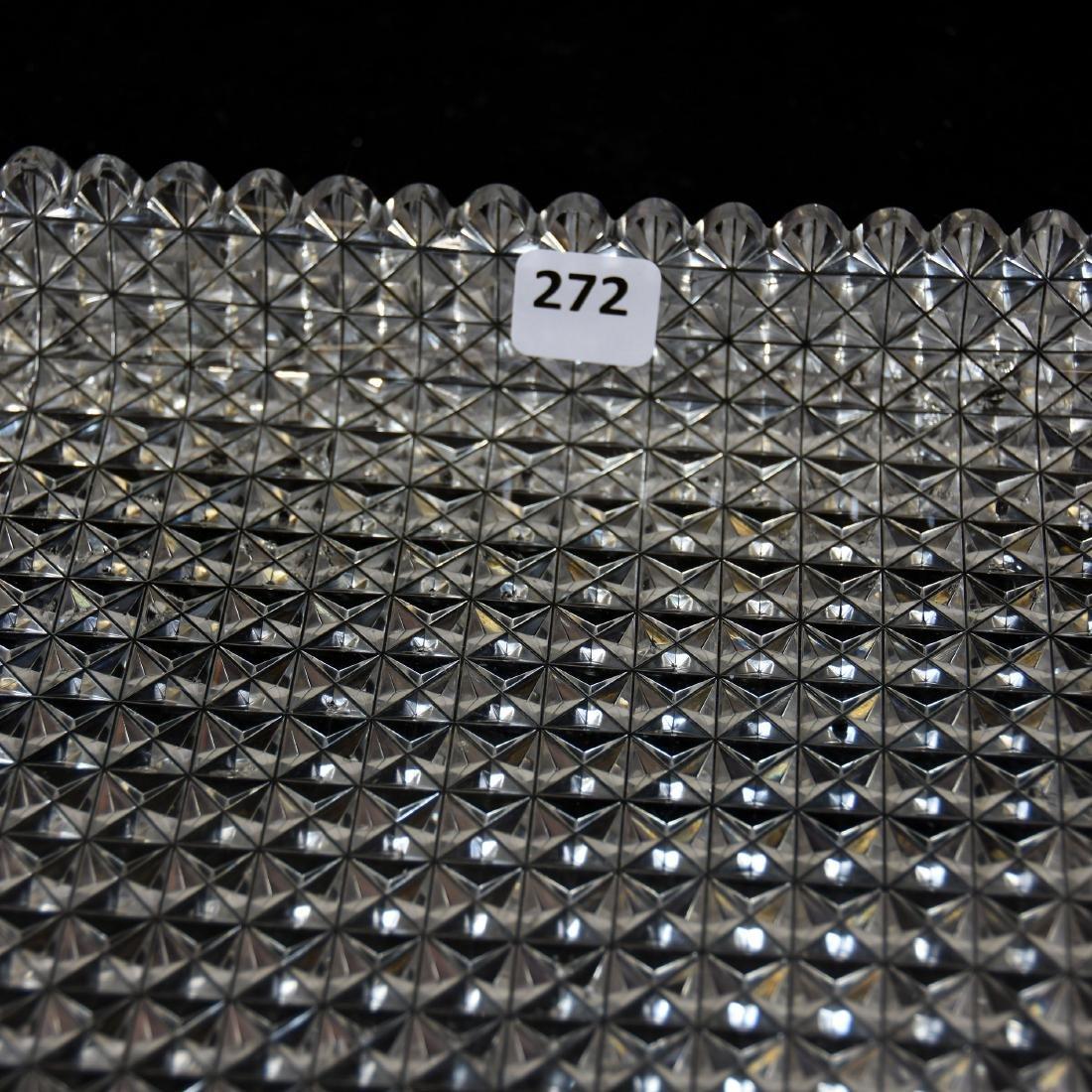 Serving Tray, Diamond Block Design - 3