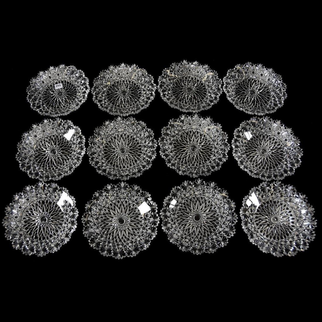 (12) Plates, Modified Russian Pattern