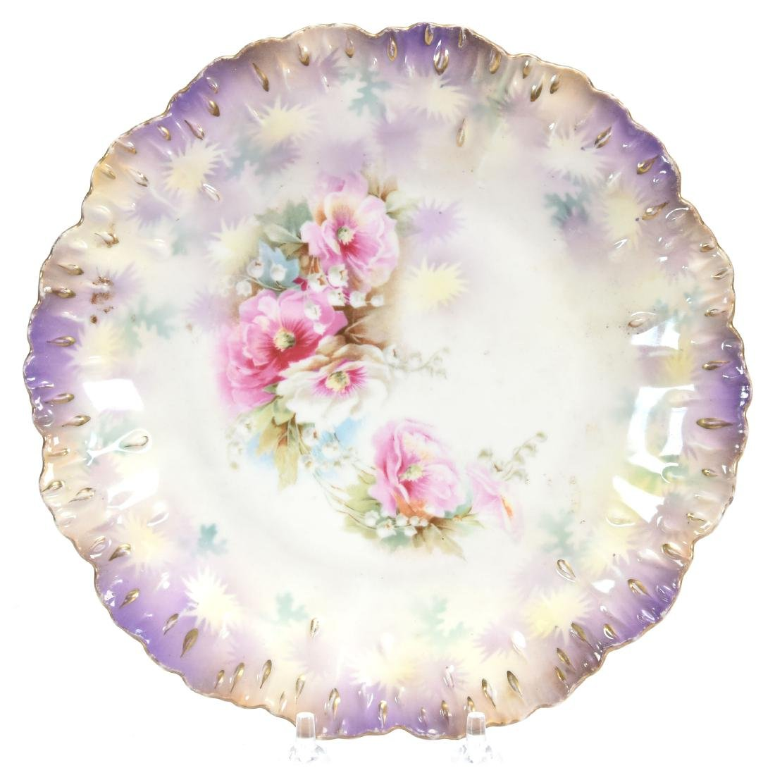 """Plate, Marked R.S. Prussia 8.5"""""""