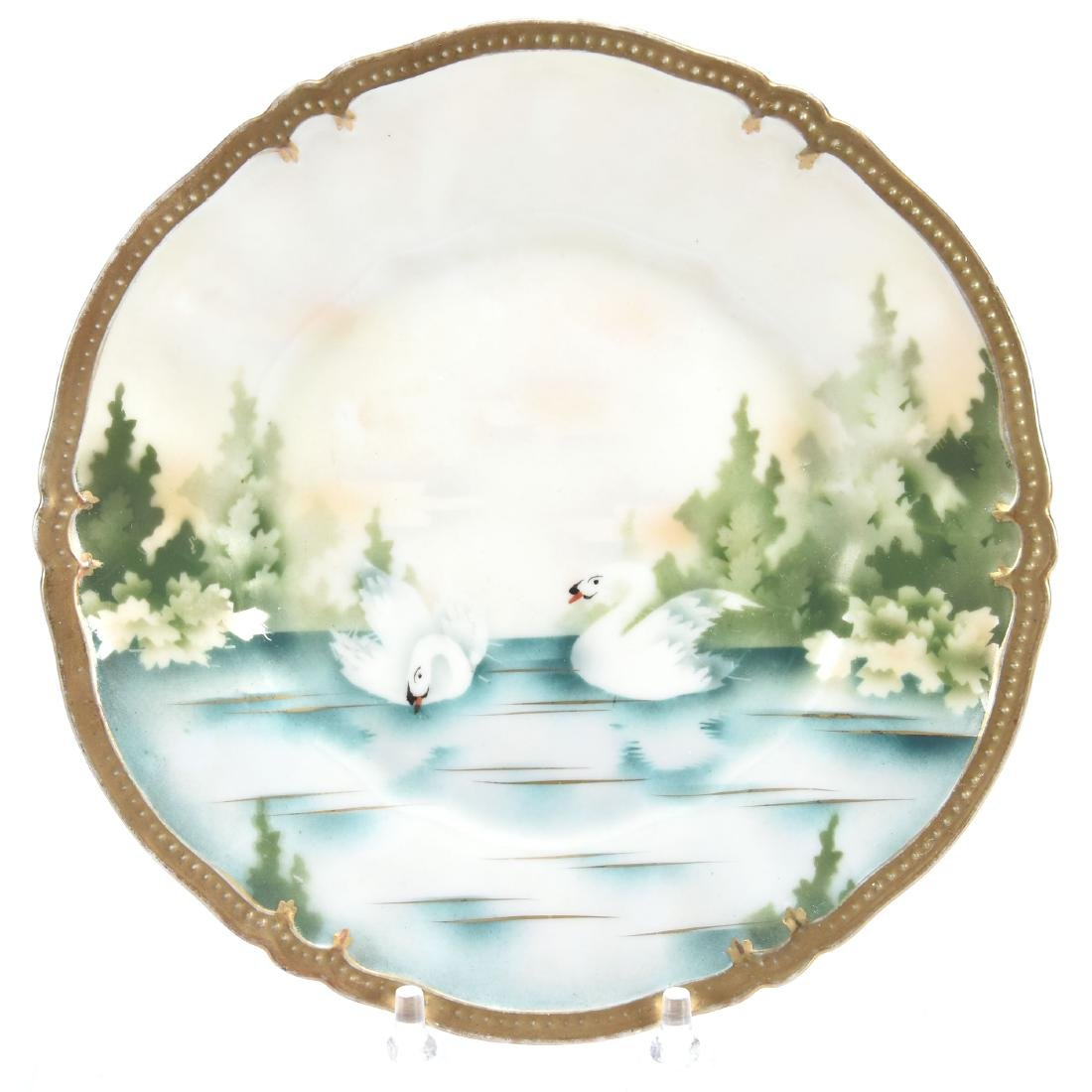 """Plate, Marked R.S. Prussia 7.5"""""""