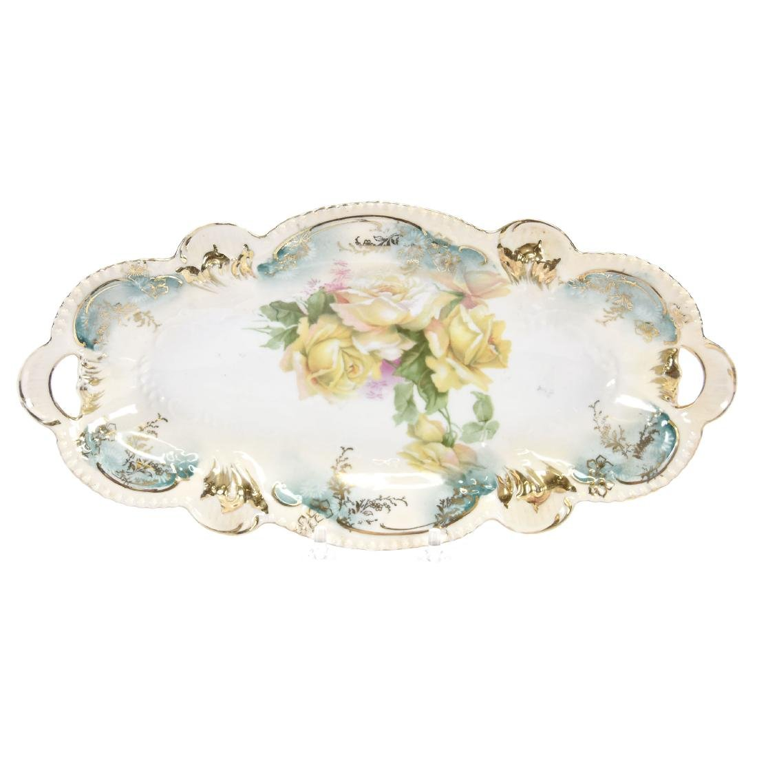 """Celery Tray, Marked R.S. Prussia 12.25"""""""