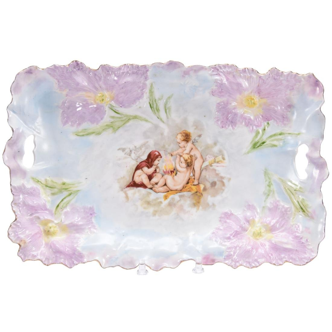 """Dresser Tray, Marked R.S. Prussia 11.5"""""""