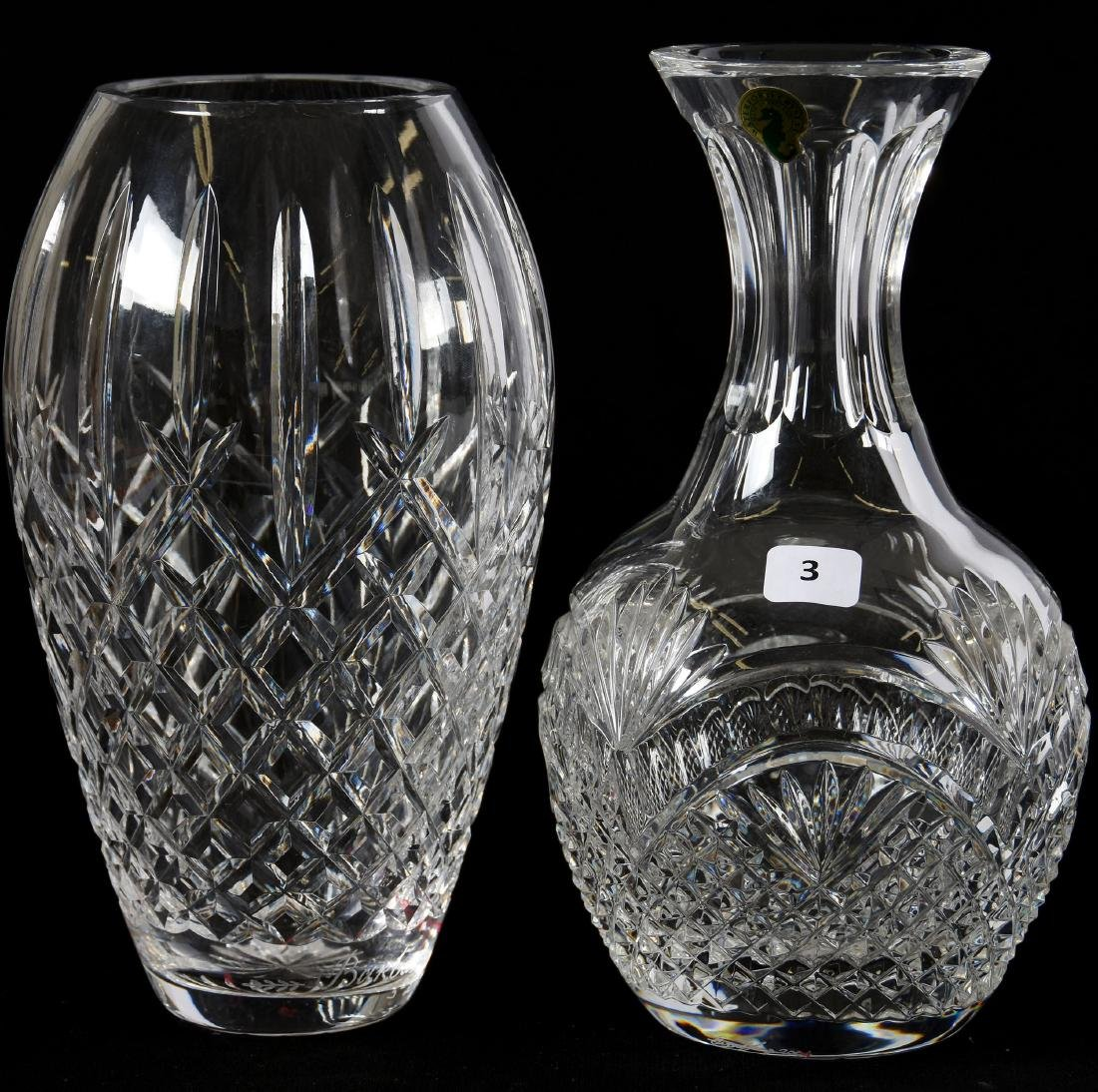 (2) Crystal Items, Signed Waterford